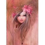 Puzzle  Grafika-Kids-00746 Pièces magnétiques - Misstigri : Sweet Pinky Girl