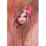 Puzzle  Grafika-Kids-00747 Pièces XXL - Misstigri : Sweet Pinky Girl