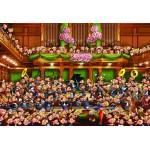 Puzzle  Grafika-Kids-00812 Pièces XXL - François Ruyer : Orchestre !