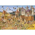 Puzzle  Grafika-Kids-00815 François Ruyer: Le Château des Lapins