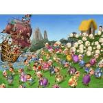 Puzzle  Grafika-Kids-00847 Pièces magnétiques - François Ruyer: Pirates