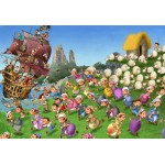 Puzzle  Grafika-Kids-00848 Pièces XXL - François Ruyer: Pirates