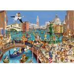 Puzzle  Grafika-Kids-00857 François Ruyer : Les Lapins à Venise