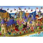 Puzzle  Grafika-Kids-00882 Pièces magnétiques - François Ruyer: Sorcières