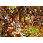 Puzzle  Grafika-Kids-00897 Pièces magnétiques - François Ruyer: Sorcière