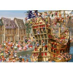 Puzzle  Grafika-Kids-00901 François Ruyer: Pirates