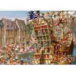 Puzzle  Grafika-Kids-00902 Pièces magnétiques - François Ruyer: Pirates