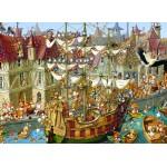 Puzzle  Grafika-Kids-00904 François Ruyer: Lapins !