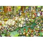 Puzzle  Grafika-Kids-00917 Pièces magnétiques - François Ruyer: Loups !