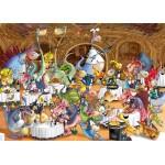 Puzzle  Grafika-Kids-00922 Pièces magnétiques - François Ruyer: Restaurant des Dragons