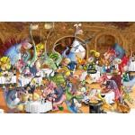 Puzzle  Grafika-Kids-00923 Pièces XXL - François Ruyer: Restaurant des Dragons