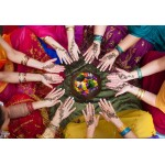 Puzzle  Grafika-Kids-00978 Pièces XXL - Femmes Indiennes