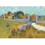 Puzzle  Grafika-Kids-00994 Vincent Van Gogh - Ferme de Provence, 1888