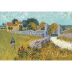 Puzzle  Grafika-Kids-00995 Pièces XXL - Vincent Van Gogh - Ferme de Provence, 1888