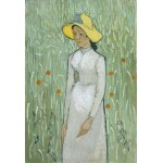 Puzzle  Grafika-Kids-00999 Pièces XXL - Vincent Van Gogh - Girl in White, 1890