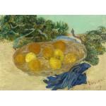 Puzzle  Grafika-Kids-01001 Pièces magnétiques - Vincent Van Gogh - Still Life of Oranges and Lemons with Blue Gloves, 1889