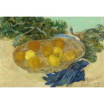 Puzzle  Grafika-Kids-01003 Pièces XXL - Vincent Van Gogh - Still Life of Oranges and Lemons with Blue Gloves, 1889