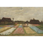 Puzzle  Grafika-Kids-01007 Pièces XXL - Vincent Van Gogh - Flower Beds in Holland, 1883