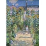 Puzzle  Grafika-Kids-01019 Claude Monet - Le Jardin de l'Artiste à Vétheuil, 1880