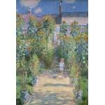 Puzzle  Grafika-Kids-01020 Pièces XXL - Claude Monet - Le Jardin de l'Artiste à Vétheuil, 1880
