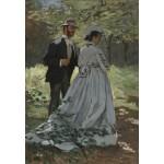 Puzzle  Grafika-Kids-01021 Claude Monet - Bazille et Camille, 1865