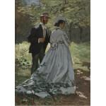 Puzzle  Grafika-Kids-01023 Claude Monet - Bazille et Camille, 1865