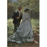 Puzzle  Grafika-Kids-01024 Pièces XXL - Claude Monet - Bazille et Camille, 1865