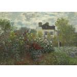 Puzzle  Grafika-Kids-01037 Claude Monet - Jardin de l'Artiste à Argenteuil, 1873