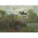 Puzzle  Grafika-Kids-01039 Claude Monet - Jardin de l'Artiste à Argenteuil, 1873