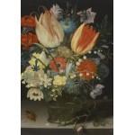 Puzzle  Grafika-Kids-01081 Pièces XXL - Peter Binoit: Nature Morte avec des Tulipes, 1623