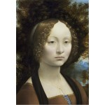 Puzzle  Grafika-Kids-01090 Leonard de Vinci: Ginevra de' Benci, 1474-1476
