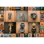 Puzzle  Grafika-Kids-01100 Collage - Portes