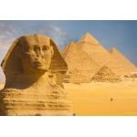 Puzzle  Grafika-Kids-01139 Sphinx et Pyramides de Gizeh