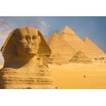 Puzzle  Grafika-Kids-01142 Pièces XXL - Sphinx et Pyramides de Gizeh