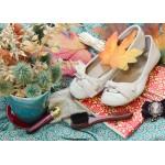 Puzzle  Grafika-Kids-01155 Pièces magnétiques - Vintage Dancing Shoes