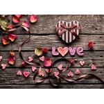 Puzzle  Grafika-Kids-01180 Pièces magnétiques - Love