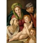 Puzzle  Grafika-Kids-01254 Agnolo Bronzino : La Sainte Famille, 1527/1528