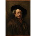 Puzzle  Grafika-Kids-01262 Rembrandt - Auto-Portrait, 1660