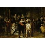 Puzzle  Grafika-Kids-01264 Rembrandt - La Ronde de Nuit, 1642