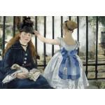 Puzzle  Grafika-Kids-01267 Edouard Manet : Le Chemin de Fer, 1873