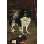Puzzle  Grafika-Kids-01268 Edouard Manet : Tama : Le Chien Japonais, 1875