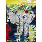 Puzzle  Grafika-Kids-01272 Eléphanteau Thaïlandais