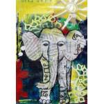 Puzzle  Grafika-Kids-01273 Pièces XXL - Eléphanteau Thaïlandais