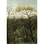 Puzzle  Grafika-Kids-01274 Henri Rousseau : Rendez-Vous dans la Forêt, 1889