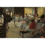 Puzzle  Grafika-Kids-01276 Edgar Degas : La Classe de Danse, 1873