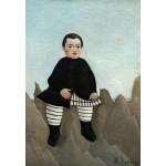 Puzzle  Grafika-Kids-01290 Henri Rousseau : Garçon sur un Rocher, 1895/1897