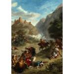 Puzzle  Grafika-Kids-01291 Eugène Delacroix : Arabes tiraillés dans les montagnes