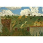Puzzle  Grafika-Kids-01295 Edouard Vuillard : Paysage d'Ile de France, 1894