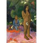 Puzzle  Grafika-Kids-01300 Paul Gauguin : Parau na te Varua ino (Mots du Diable), 1892