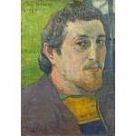 Puzzle  Grafika-Kids-01303 Paul Gauguin : Autoportrait Dédicacé à Carrière, 1888-1889